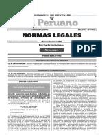 Decreto Supremo Que Declara El Estado de Emergencia en Algun Decreto Supremo n 047 2018 Pcm 1643518 1