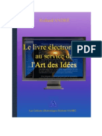 LE LIVRE ÉLECTRONIQUE AU SERVICE DE  L'ART DES IDÉES - Richard ANDRÉ