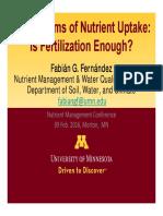 6. Fernandez Mechanisms of Nutrient Uptake