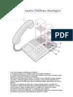 Manual Usuario Teléfono Analógico
