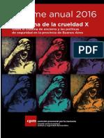 Informe Sistema Pinitenciario Argentina