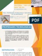 Propiedades Tecnologicas y Mecanicas