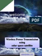 Wireless Power Transmission Using Solar Space Satellite