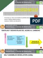 SUSTENTACION Síntesis y caracterización de un recubrimiento órgano-metálico v4.pptx