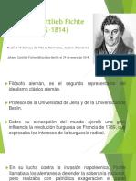 21. Johann Gottlieb Fichte