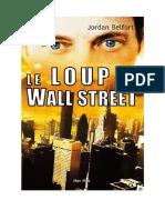 Le Loup de Wall Street - Belfort, Jordan