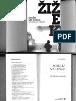 Zizek-sobre La Violencia Seis Reflexiones Marginales