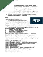 british final part b study guide
