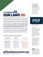 Federal Gun Laws 101 Factsheet GLC