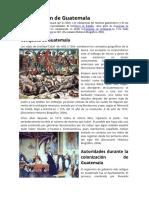 Colonización de Guatemala