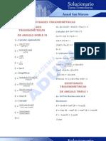Solucionario Domiciliaria Trigonometría 5 Anual San Marcos