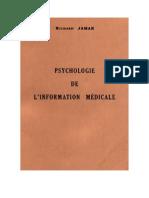 PSYCHOLOGIE DE L'INFORMATION MÉDICALE - Leera