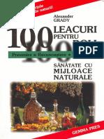 Alexander Grady - 100 Leacuri Pentru 100 de Boli