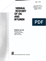 Thermal Recovery of Oil - Butler (1991)