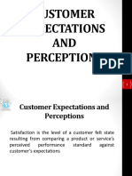 Customer Perception and Expectation