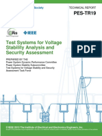 PES-TR19 2015 - Test Systems for Voltage Stability Analysis and Security Assessment