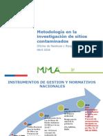 Metodologia en La Investigacion de Sitios Contaminados PDF