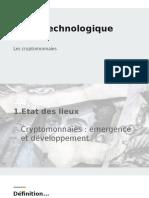 Veille technologique - Les cryptomonnaies (mai 2018)