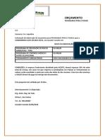 Orçamento Condominio Alto Da Boa Vista 2018