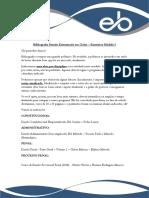 Bibliografia Estudo Estruturado Em Ciclos Extensivo Modulo i
