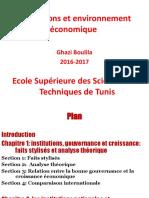 Institutions Et Environnement Économique