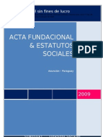 Estatuto Somosgays Sin Acta
