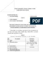 New Detailed Affidavit of Income and Assessts June 2017