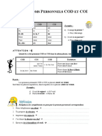 Pronoms Personnels Cod Et Coi Guide Grammatical 17651