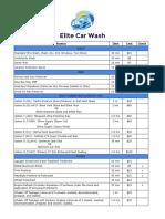 elite car wash price list 2018 pdf