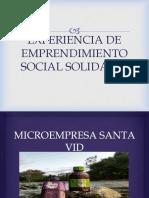 Experiencia de Emprendimiento Social Solidario
