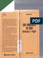 Boff-San Francisco de Asís Ternura y Vigor