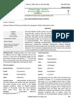 Kalanchoe 6 Vol. 3 Issue 4 April 2012 467 Paper 6