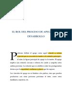 5. El Rol Del Proceso de Apego en El Desarrollo