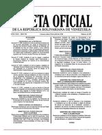 GO 41387 Decreto N° 3.390 de fecha 30 de abril de 2018