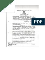 Resolución Ministerial Nº 9802.11 Reglamenta El Servicio en Centros