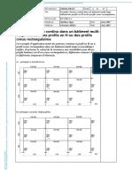 Exemple Poteau continu dans un bâtiment multi-étagé utilisant des profils en H ou des profils creux rectangulaires