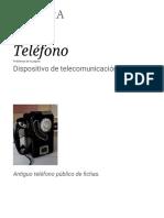 Teléfono - Wikipedia, la enciclopedia libre.pdf