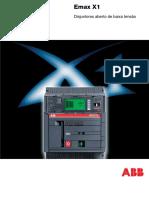 ABB Breakers - Catalogo Emax X1 - PT