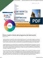 Cómo Medir El Éxito Del Programa de Lubricación - Noria Latín América