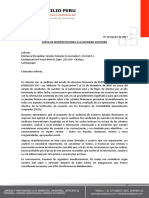 Carta de Manifestaciones - A DOMICILIO PERU