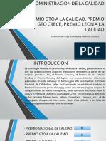 Exposicion Administracion de Calidad Tema Premio Gto a La Calidad_ Carlos r Arraiaga
