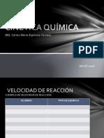 Act 13 Cinética Química Carlos Espinosa