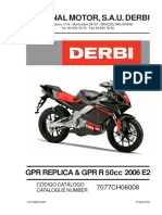 Catalogo de Repuestos Gpr50 Replica