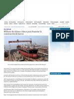 Financiamiento de buques - noticia