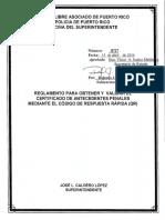 8727 Reglamento Para Obtener y Validar Certificado de Antecedentes Penales Mediante El Código de Respuesta Rápida (QR)