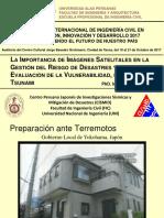 Estrada ImágenesSatelitalesEnLaGRD UAPTecna2017