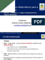 DEC7121 2018 Un1 LogicaAlgebraBoole