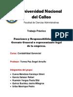 Udp-marketing-funciones y Responsabilidades Del Gerente General en Chile