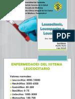 Leucocitosis, Leucopenias y Leucemias POWER POINT
