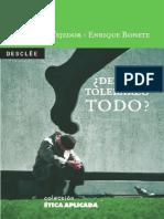 _Debemos Tolerarlo Todo_ - Tejedor, Cesar(Author)